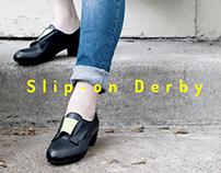 Slip-on Derby