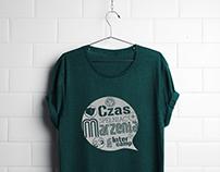 Projekt koszulki Czas spełniać marzenia