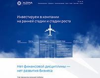 Корпоративный сайт «Aldina»