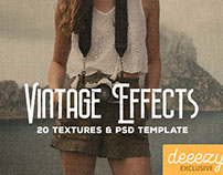 FREE Vintage Paper Textures & Effects