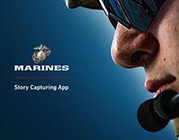 U.S. Marine Corps Story Capturing App