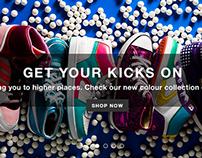 Receptive E-commerce Store Concept