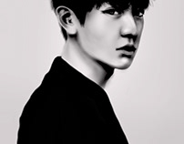 Illustrations - Park Chanyeol
