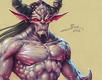 Demon Creature Design