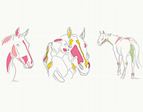Horse - Lineart