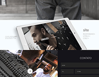 UI DESIGN / UX #GANGSTER - SITE 2016 - LAYOUT.