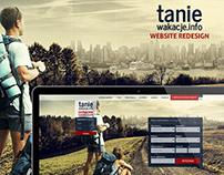Taniewakacje | Website Redesign