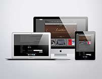"""Website for """"SN-LeatherBoutique"""""""