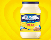 Hellmann's key visuals