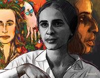 Ilustração - Maria Bethânia