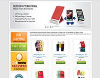 Mobile accessories store Design