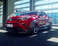 CGI-Toyota C-HR