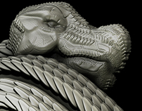 Stone Lizard - Lunch Crunch Sculpt