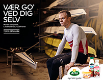 "Arla ""Be good to your self"""