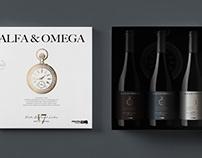 Wine Label Alfa & Omega