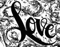 Love - Typography