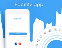 Facility Application UI Design