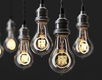 Edison lamp vintage style.