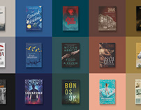 Book covers for the past year