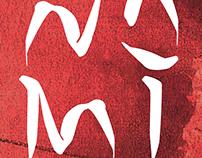 N O M I typeface