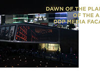 2014 DAWN OF THE PLANET OF THE APES DDP MEDIA FACADE
