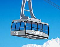 Val Gardena Ski Resort Poster