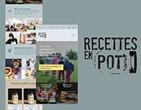 Refonte du site Recettes en Pot