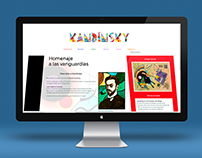 Web sobre Kandinsky