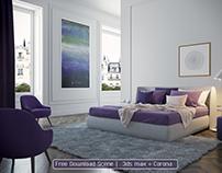 Bedroom-Free download scene