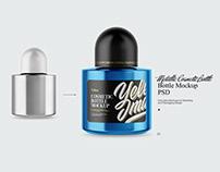 Cosmetic Bottle Mockup PSD