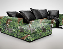 Jungle Design(Jacquard) for Upholstery