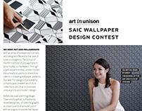 Diamond Graphite Wallpaper