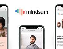 Branding Mindsum - Mental Health (Social Enterprise)