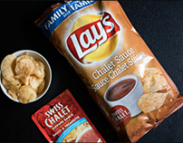 Lay's Chalet Dipping Sauce Chips (Product Creation)