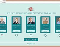 Prezidento rinkimai // www.lrpr.lt //