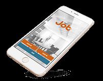 JOB PORTAL - Concept Mobile App UI