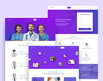 Dental Clinic Full Website Design
