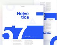 Helvetica Case Study Design