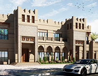 2 Attached villas  Westbay, Qatar