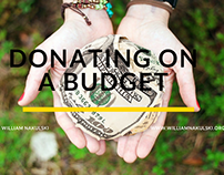 Donating on a Budget