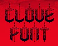 Clove font
