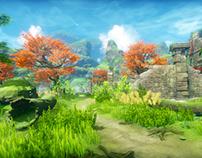 PBR fantasy environment