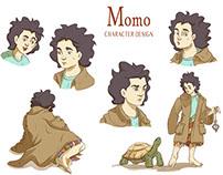 Momo character design