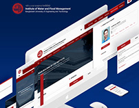 Educational Website Redesign ( BUET IWFM )
