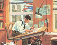 """Joe Shuster- The artist behind Superman"""