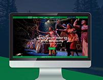 Website Teatro Ecológico / ABC