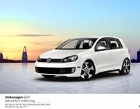 poster | Volkswagen Golf
