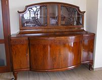 Restoration of antique sideboards
