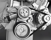 3D Motor Engine