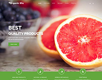 Organic Life - Eco Friendly E-Commerce Joomla Template